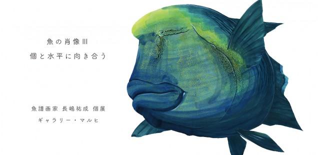 個展「魚の肖像Ⅲ 個と水平に向き合う」のお知らせ
