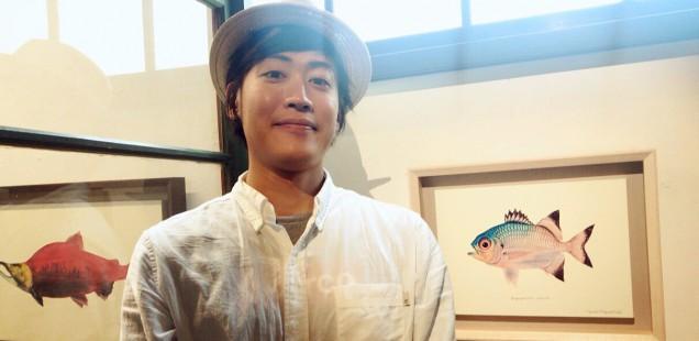 個展「魚の肖像Ⅲ 個と水平に向き合う」ありがとうございました